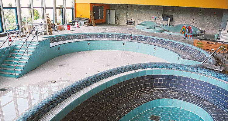 Renovierung des Taubertsbergbads Mainz
