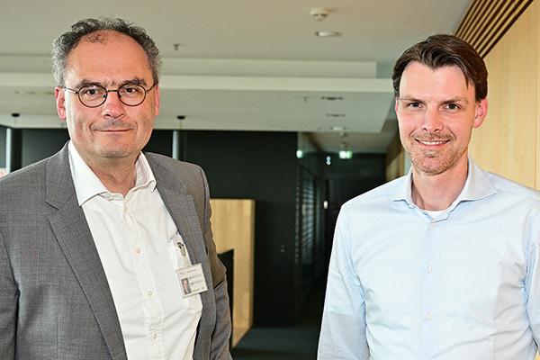 Michael Worch und Dr. Tobias Brosze
