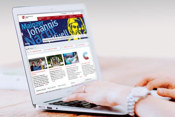 Bürgeramt digital Laptop