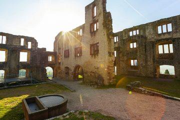 Burgruine Landskrone Weinwanderungen