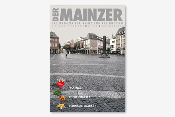 DER MAINZER Heft Titel November 2020