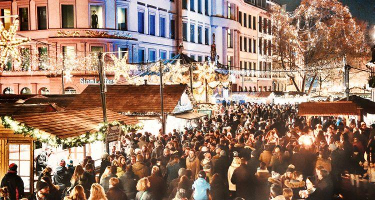 Weihnachrtsmarkt, Einzelhandel