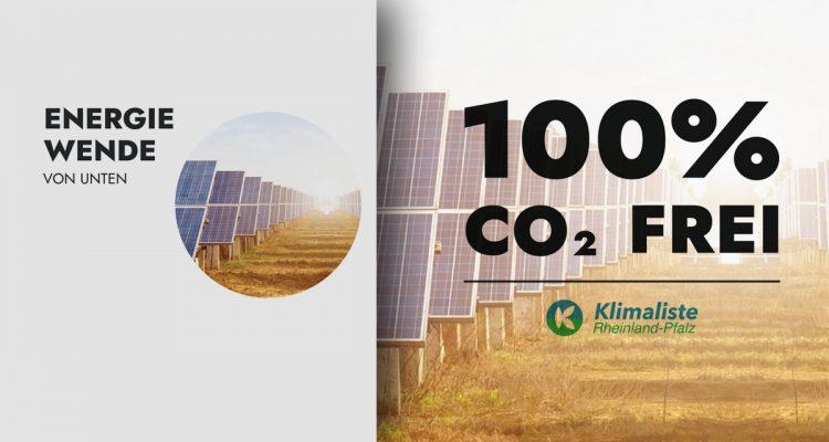 Klimaliste RLP Klimaliste Rheinland-Pfalz