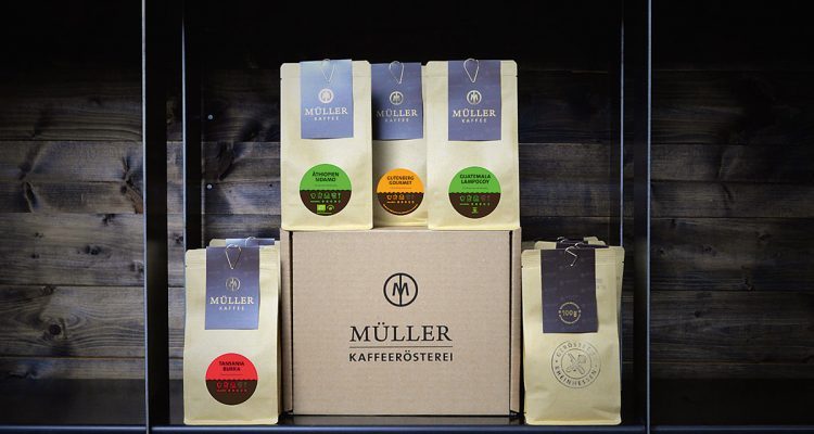 Kaffeerösterei Geschenkbox