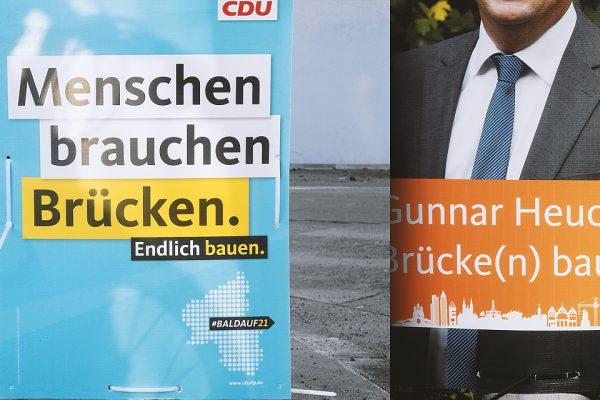 Landtagswahl 2021 Plakate