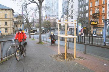 Rad-und Fußweg Alice-Rampe Mainz