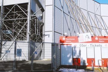 Mainz 05 Ticket-Box Bruchwegstadion