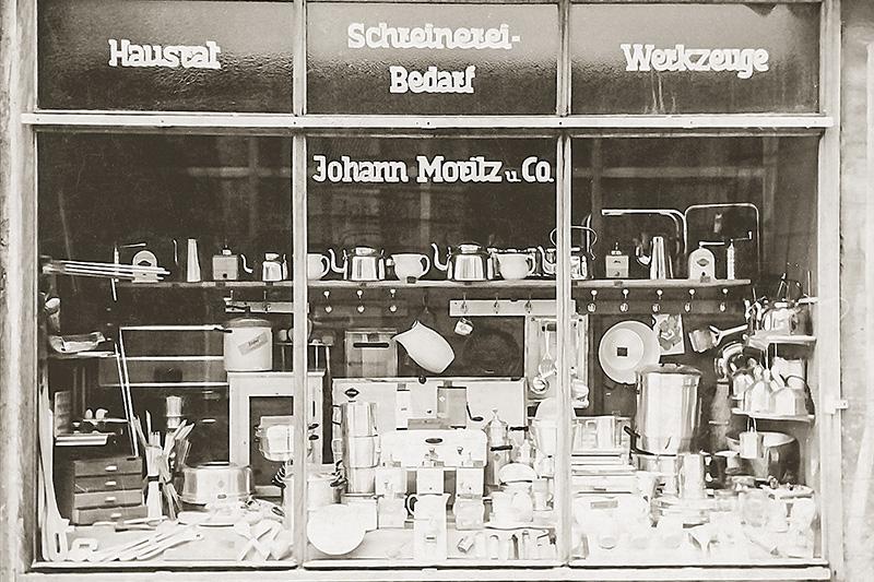Moritz-Schaufenster