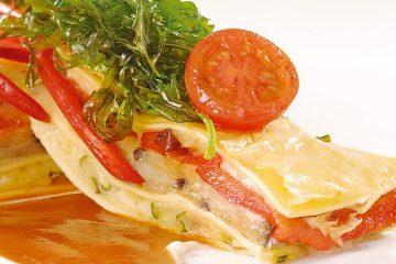 Lasagne mit mediterranem Gemüse