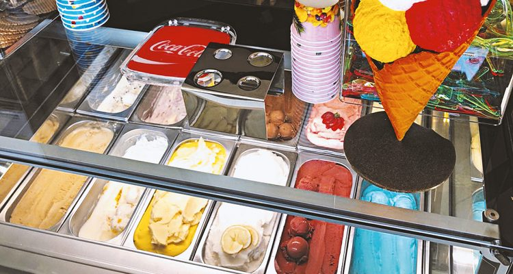 glutenfreies Eis