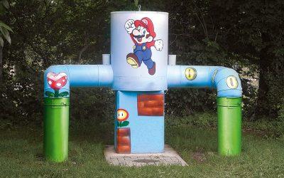 Super Mario in Mainz