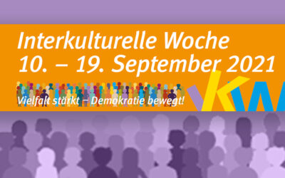 46. Interkulturelle Woche Mainz 2021 vom 10.9 bis 19.9.2021