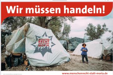"Kampagne ""Menschenrecht statt Moria"