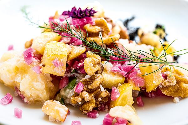 Handkäs-Salat