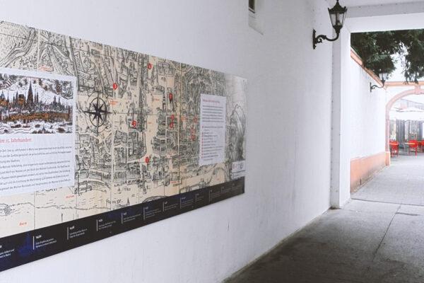 Gutenbergpfad, Innenstadt Impulse